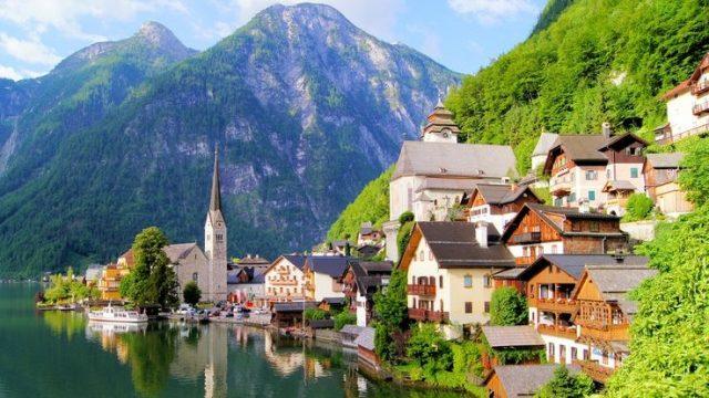 Salzkammergut Lakes, Austria
