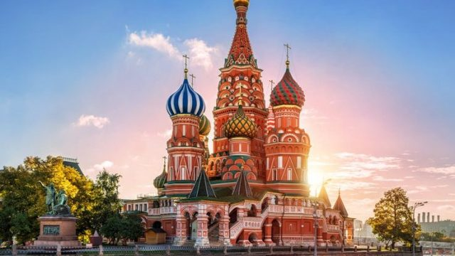 St Basils Cathedral, Russia