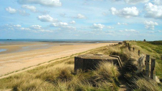 D-Day Beach Normandy